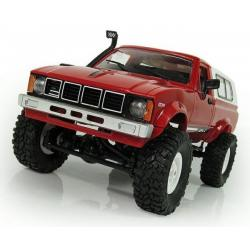 Car OFF-ROAD WPL C-24K 1:16 4x4 - KIT – červené